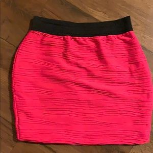 Pink Roused Skirt